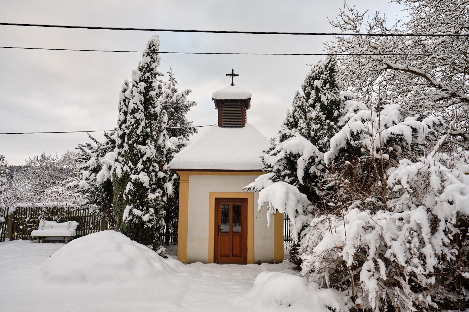 Máme sníh i sáně