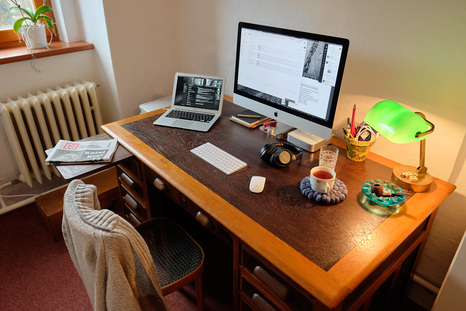 Pánská kancelář